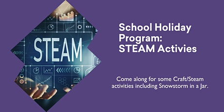 School Holiday Program - Craft/STEAM activity @ Queenstown Library tickets
