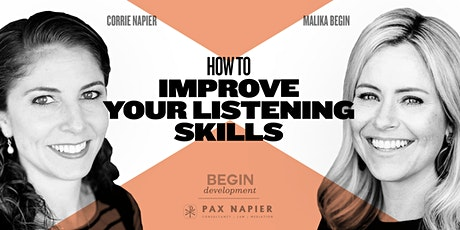How to Improve Your Listening Skills tickets