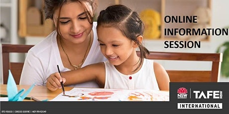 Information Session on  Bachelor of Early Childhood Education  and Care tickets