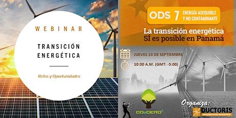 Transición Energética: Retos y Oportunidades entradas