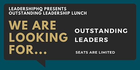 Outstanding Leaders Lunch tickets