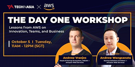The Day One Workshop with Amazon Web Services tickets