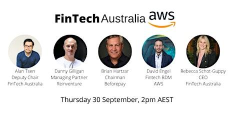 Fintech Australia / AWS Fintech Megatrends Webinar tickets