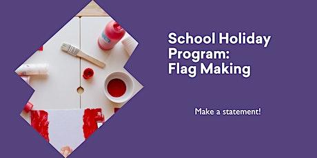 School Holiday Program - Flag Making @ Rosebery Library tickets