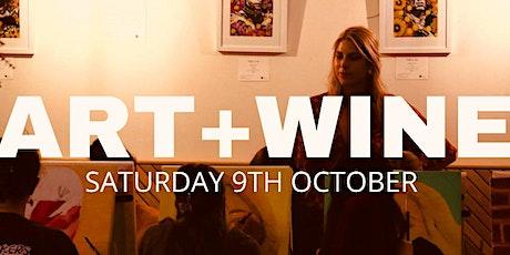 Art & Wine with Ella Boylan Art tickets