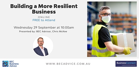 Building a More Resilient Business tickets
