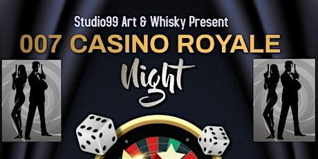 007 JAMES BOND CASINO ROYALE NIGHT tickets
