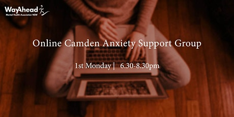 Online Camden Anxiety Support Group tickets