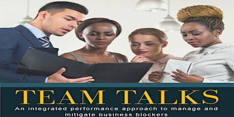 Rapid Team Talks entradas