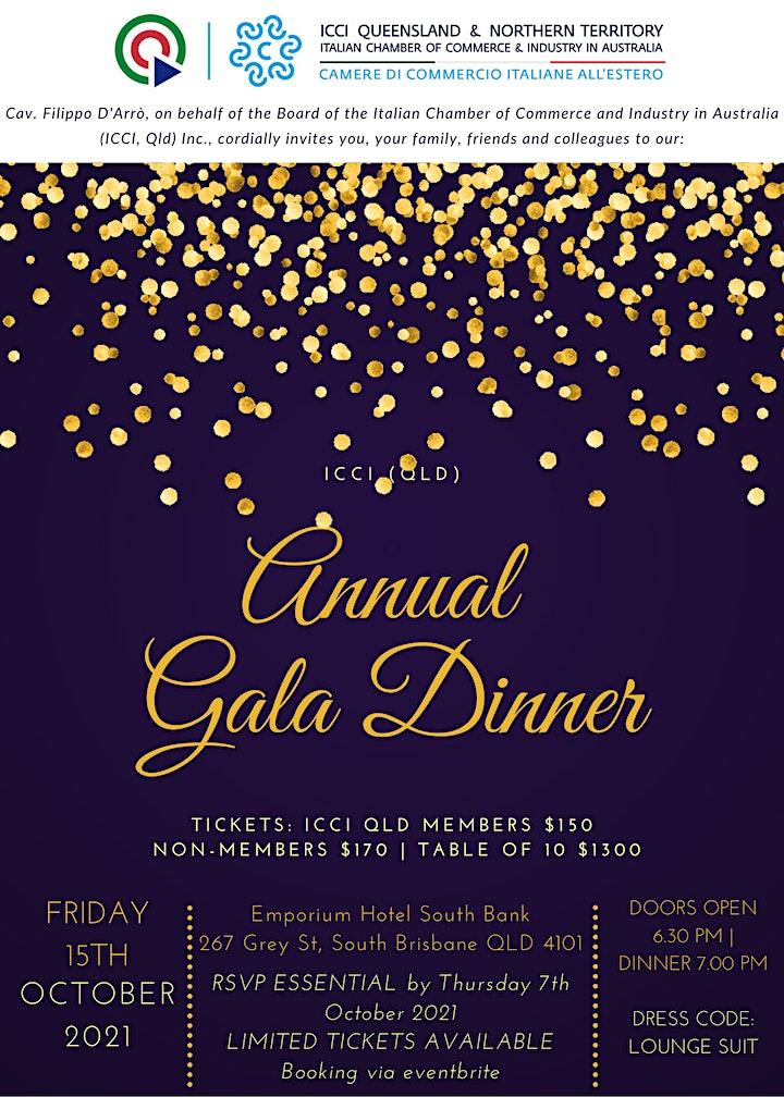 ICCI QLD Annual Gala Dinner 2021 image