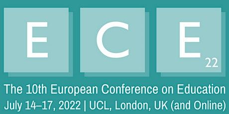 The 10th European Conference on Education (ECE2022) tickets