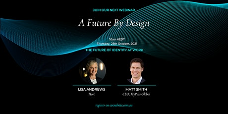 A Future By Design - The Future of Identity at Work tickets