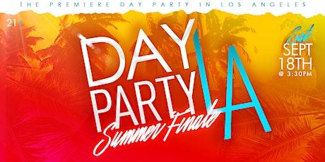 Day Party LA: Summer Finale tickets