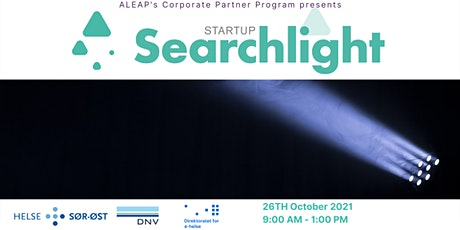 Aleap Corporate Partners and Startups SearchLight tickets