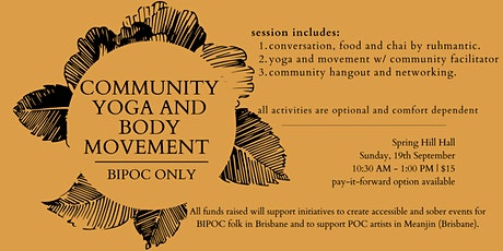 Community Yoga (BIPOC Only) - September tickets