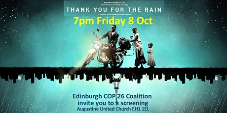 """FILM: """"Thank you for the Rain"""" Africa-Paris Climate frontline 7pm Fri 8 Oct tickets"""