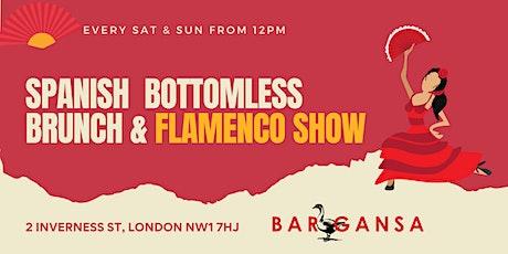 Spanish Bottomless Brunch & Flamenco Show tickets