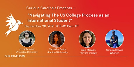 Navigating The US College Process as an International Student tickets