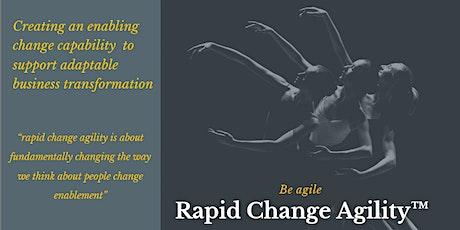 Rapid Change Agility Masterclass tickets