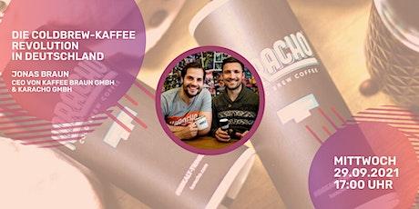 Der erfolgreichste Coldbrew Kaffee in DE - GMG Karacho Tickets