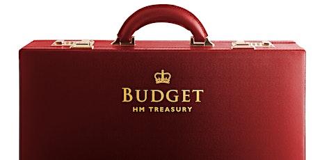 Autumn Budget 2021 tickets