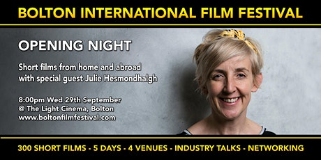 Opening Night - with Julie Hesmondhalgh at Bolton Film Festival tickets