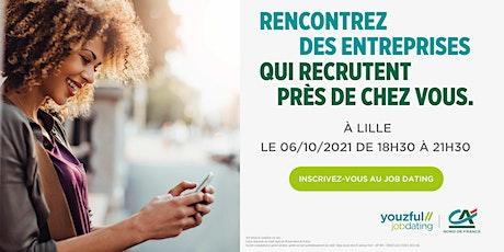 Job Dating à Lille : décrochez un emploi ! billets