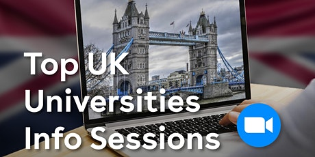 IDP Info Session with University of East Anglia : UCAS Workshop tickets