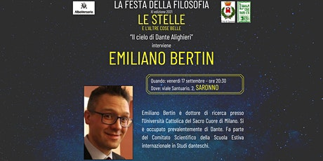 Festa della Filosofia - Saronno: Emiliano Bertin biglietti