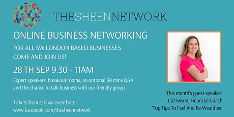 The Sheen Network: Virtual Business Networking Meeting, September2021 tickets