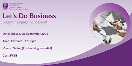 Online Supplier Engagement Event tickets