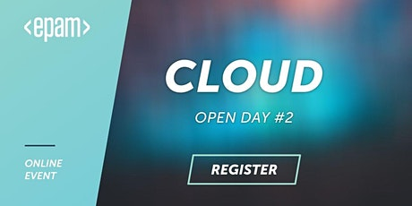 Cloud Open Day #2 tickets