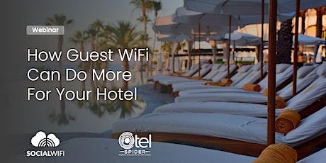 Webinar: Using Hotel WiFi To Win At Marketing tickets