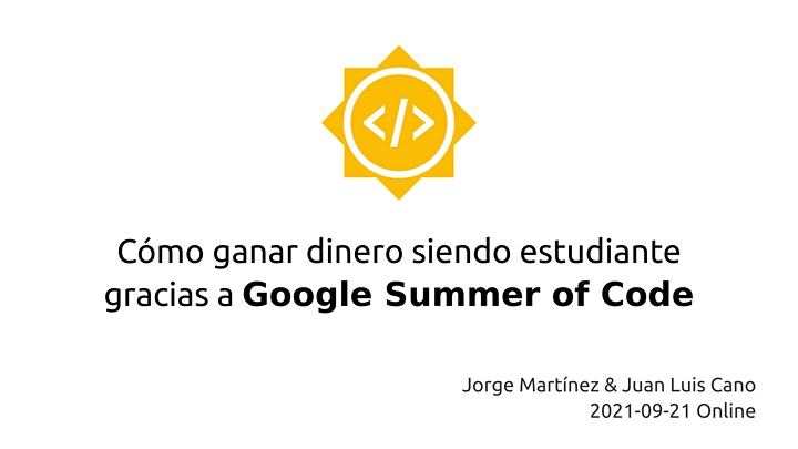 Imagen de Cómo ganar dinero siendo estudiante gracias a Google Summer of Code