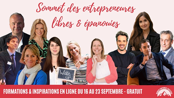 Image pour Le sommet des entrepreneures libres & épanouies