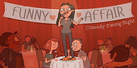 Funny Affair - Comedy Dating Night (±30-40y) Tickets