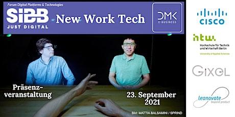 New Work Tech - Werkzeuge der neuen Arbeitswelt tickets