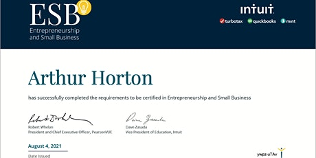 Entrepreneurship and Small Business Certified Course + a Revenue Solution! tickets