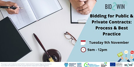 Bidding for Public & Private Contracts:  Process & Best Practice tickets