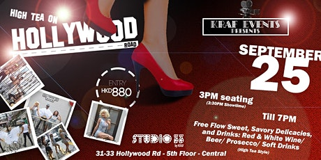 High tea on Hollywood Road (Saturday, Sept 25) tickets