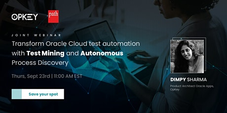 Transform Test Automation for Your Oracle Applications (EBS & Cloud) tickets