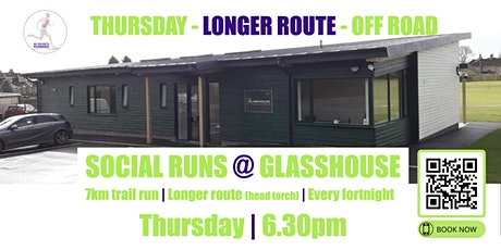 THURSDAY OFF ROAD Social Run @ Glasshouse - 25th November 2021 - 6.30pm tickets