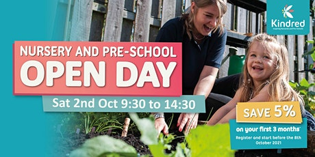 Hainault Nursery & Pre-School Open Day - 2nd October tickets