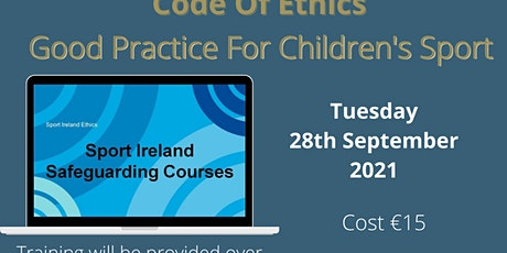 Safeguarding 1 - Code of Ethics tickets