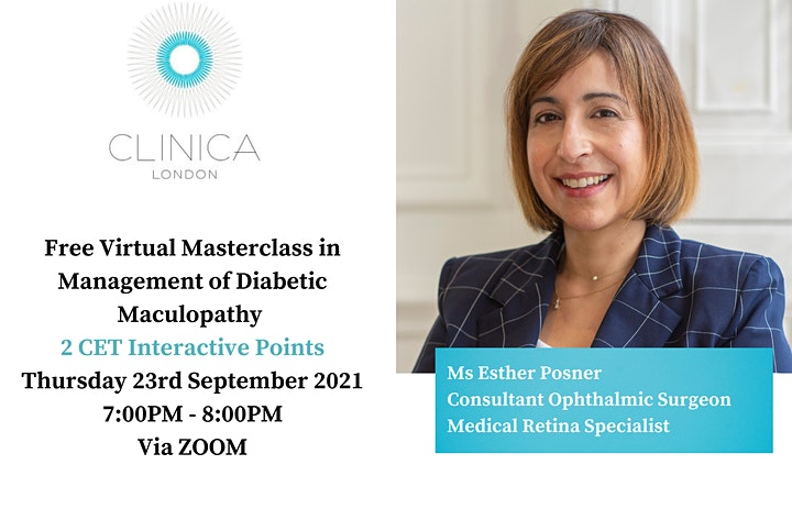 Free Masterclass in Management of Diabetic Maculopathy image