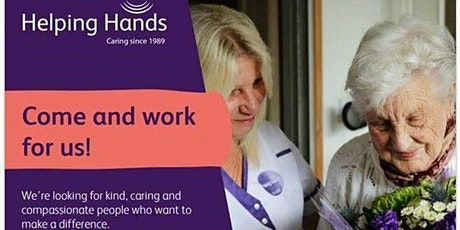 Helping Hands Recruitment Open Day - Chelmsford tickets