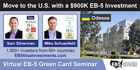 U.S. Green Card Virtual Seminar – Odessa, Ukraine tickets