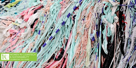 Women in Cleantech: Tackling Microfiber Pollution from Fashion tickets