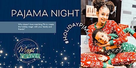 Meet Santa LIVE in your Pajamas! billets