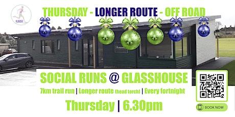 THURSDAY OFF ROAD XMAS Social Run @ Glasshouse - 23rd Dec 2021 - 6.30pm tickets